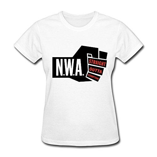 Nana-Custom Tees - T-Shirt - Woman Black White S