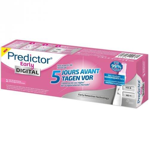 Predictor Early Digital Test de Embarazo 1 U - Test de Embarazo Test De Embarazo