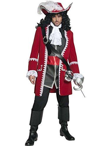 Pirat Herren Kostüm luxe, m