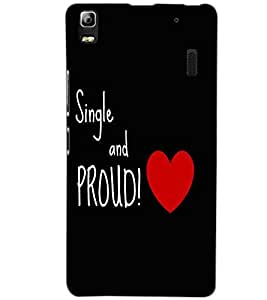 LENOVO A7000 PLUS SING AND PROUD Back Cover by PRINTSWAG