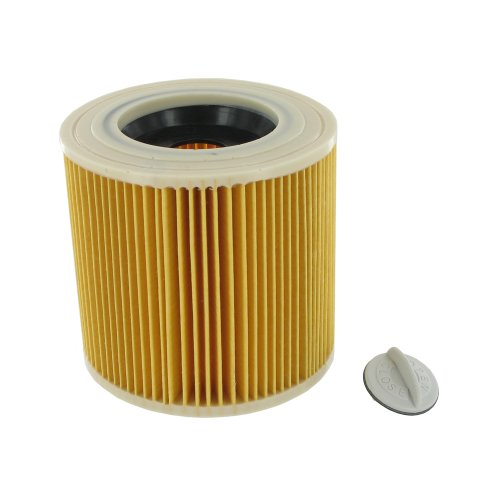 Kärcher Europart Patronenfilter für Nass- und Trockenstaubsauger A1000/ A2000/ VC6000/ NT27/1 von Kärcher, hochwertig, kein Originalteil