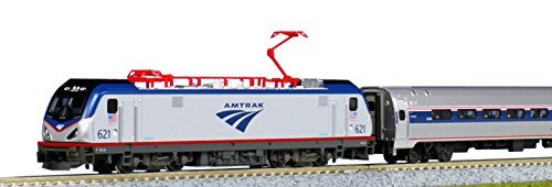 10710-2-amtrak-acs-64-amfleet-i-coach-5-cars-n-scale-by-kato