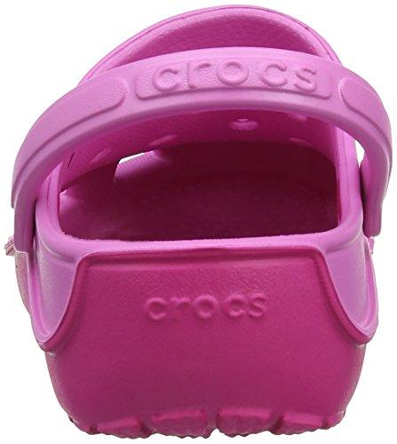 Crocs Duet Wave Clog K, Zoccoli bambini Rosa (Party Pink/Candy Pink)