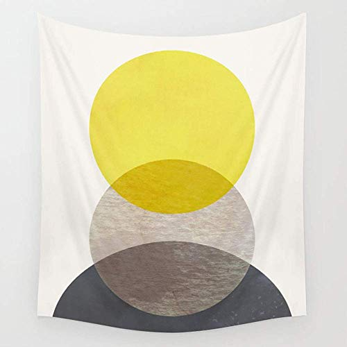 TRUIOKO Sun Moon EARTHWall Hanging for Bedroom Living Room Dorm Wall Tapestry Decor,80' X 60' inches