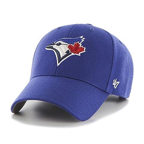 MLB Toronto Blue Jays MVP Adjustable Hat, One Size