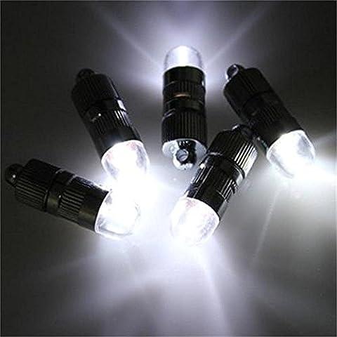 Dazone 10 weiß Mini LED-Ballons Lichter Beleuchtung für Papierlaterne Lampions