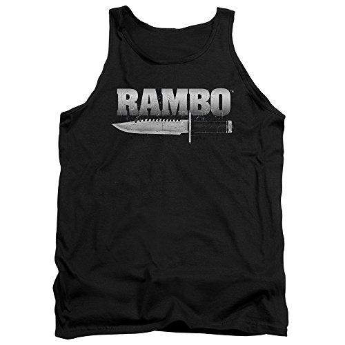 Rambo - Herren-Messer Tank Top Black