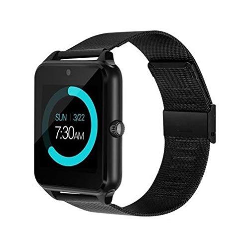JIEGEGE Intelligentes Sport-Armband, Eignungs-Schrittzähler, Edelstahl-Eignungs-Uhren Für IOS Android, Kapazitiver Touch Screen Der Hohen Präzision, Langlebiges Gut
