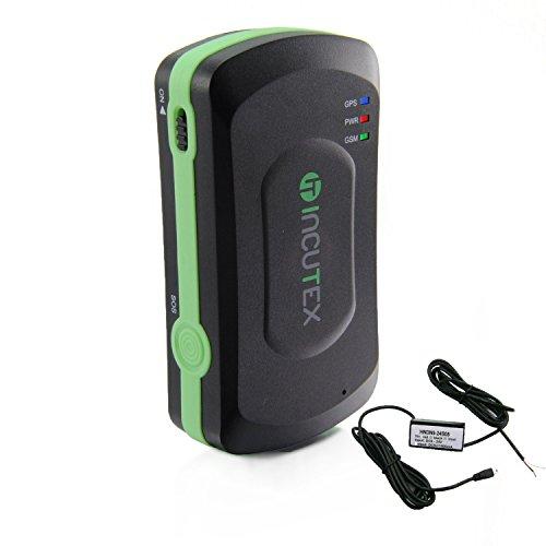 Incutex GPS Tracker TK5000 mit KFZ-Ladekabel Peilsender Personen und Fahrzeugortung Version 2017