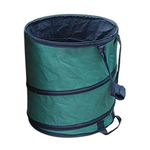 Exuberanter Tragbarer Pop-Up-Mülleimer, Faltbarer Oxford-Müllcontainer Für Gemüseanbau-Fässer, Camping-Picknick-Abfalleimer