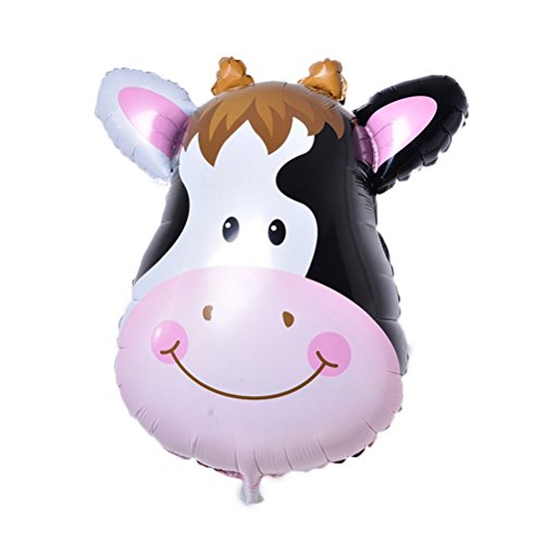 PINK SNAKE 6 Stück Folienballon Tier für Kinder Geburtstag Party Dekoration,zufällig - 5