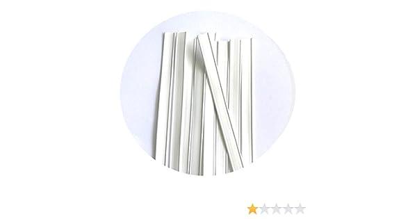 20 GD Naso Clip per paradenti I Filo per Naso Premium per Maschere I Clip in Metallo per Cucire