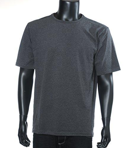 Kashmir Herren T-Shirt T-shirt Ss Grau (Dark Grey Melange 0090)