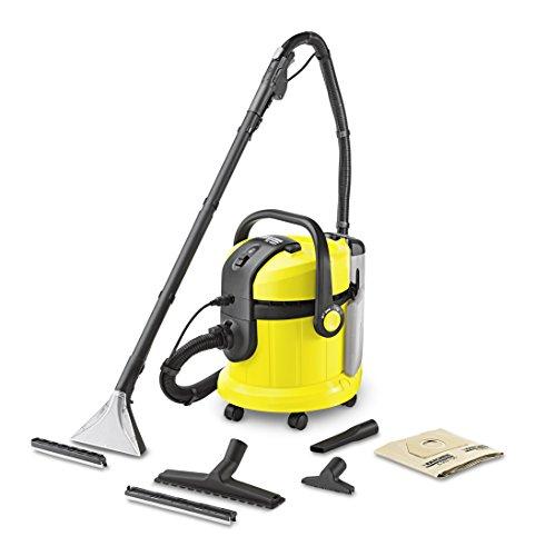 Kärcher aspirapolvere acqua e polvere se 4001, 1400 w, 4 l, giallo