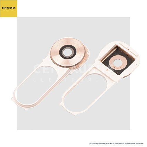 Hinten Kamera Glas Objektiv Abdeckung + Rahmen Halterung Ersatz für LG V10H901T-Mobile vs990