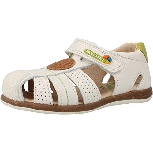 Sandali e infradito per bambino, color Bianco , marca PABLOSKY, modelo Sandali E Infradito Per Bambino PABLOSKY GRAFITO Bianco