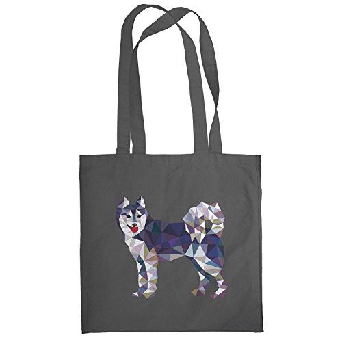 Texlab–Poly Dog–sacchetto di stoffa Grau