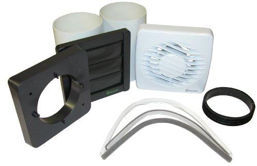 Xpelair DX100T - Extractor de aire para baño