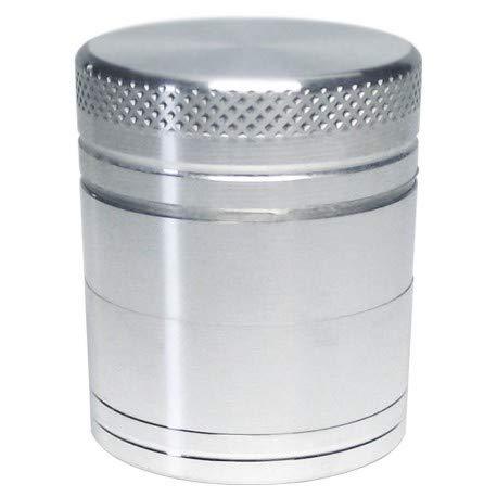Dipse CNC Alu rallador/molinillo de 4 piezas de diferentes tamaños & de coloures vivos, plata, 30 mm...