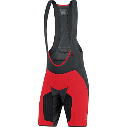 Gore Bike Wear Alp-X Pro 2In1+ - Pantalón corto para hombre, color ro