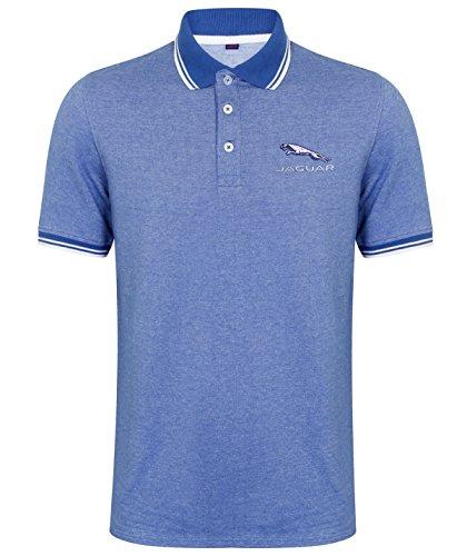 Human Apparel Herren Poloshirt Blau