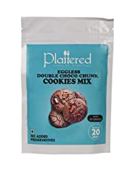 Plattered Double Choco Chunk Cookies Mix
