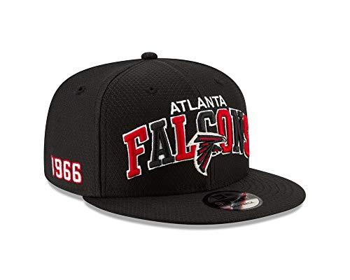 Imagen de new era nfl 19 sideline 9fifty atlanta falcons   para adulto, color negro