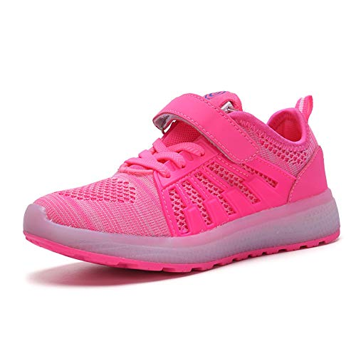 f7658120 LHWAN Led Light Up Shoes, Boys Girls Led Light Up Sports Shoes Mesh  Trainers Cargador