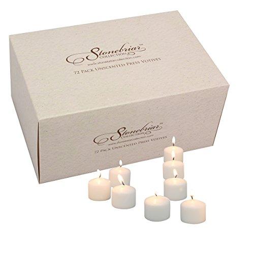 Votiv Kerzen (72Stück), weiß, S ()