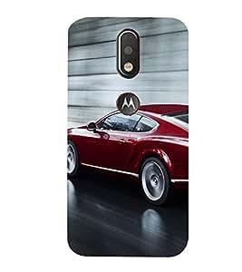 99Sublimation Royal Running Car 3D Hard Polycarbonate Back Case Cover for Motorola Moto G4