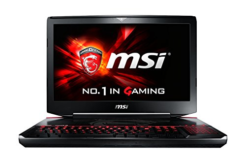 MSI Gaming GT80-2QES32SR351BW (Titan SLI) - notebooks (i7-5950HQ, Blu-Ray RW, Touchpad, Windows 10 Home, Lithium-Ion (Li-Ion), 64-bit, Nero)