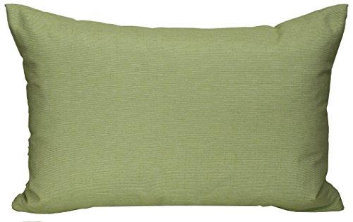 Gartenstuhl-Kissen Rückenkissen Zierkissen Querstreifen Struktur olivgrün für Lounge Gruppen ca. 60 x 40 cm