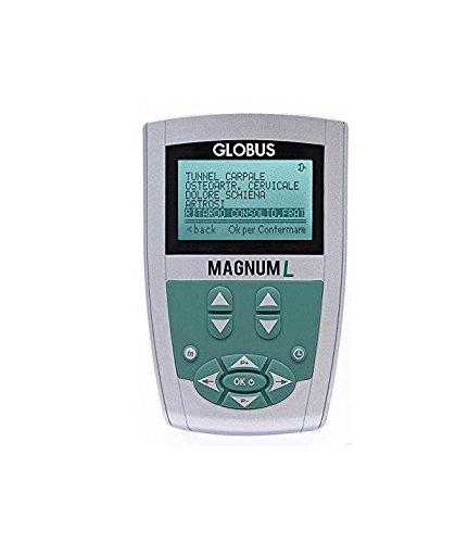 Magnum l globus magnetoterapia - 160 gauss - 1 canale - 8 programmi - 1 solenoide flessibile