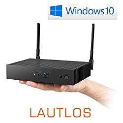 Mini-PC - CSL Narrow Box Ultra HD Storage Line Pentium / 512GB / 8GB / Win 10 - Silent-PC mit Intel-CPU 4X 2600MHz, 512GB SSD, 8GB RAM, Intel HD, AC WLAN, USB 3.1, HDMI, Bluetooth, Windows 10