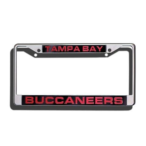 NFL Laser Cadre plaque chrome, mixte, Tampa Bay Buccaneers, taille unique