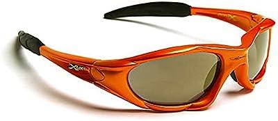 Xloop Gafas de Sol - Deporte - Ciclismo - Mtb - Running - Esquí - Snowboard - Moto - Kitesurf - Pesca / Mod 1002 Naranja