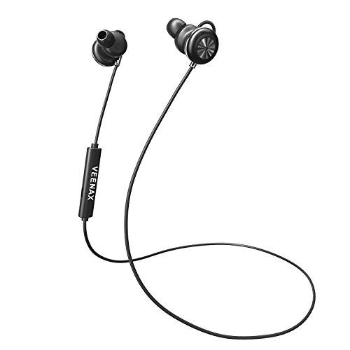 VEENAX Cuffie senza fili Auricolari Bluetooth 4.1 Stereo  7ee25de4aa6a