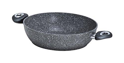 Aeternum madame petravera plus tegame, alluminio, pietra, 28 cm