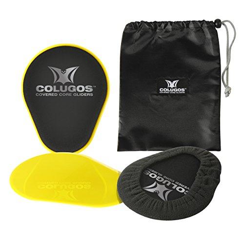 colugos-covered Core gliders-double cara Core Sliders con fundas de manera...