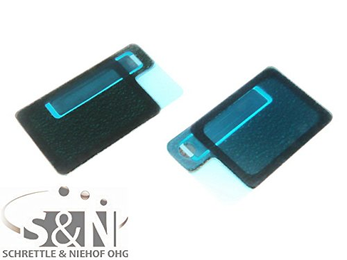 NG-Mobile Staubschutzgitter Hörer Lautsprecher Gitter Kleber Netz für Sony Xperia Z3 D6603 schwarz