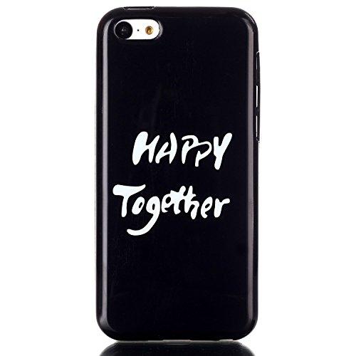 MOONCASE Etui pour Apple iPhone 5C Silicone Gel TPU Housse Coque Case Cover XS09 XS03 #0302