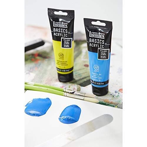 LIQUITEX Reeves Basics Acrylic Paint, 4 oz, Fluorescent Green