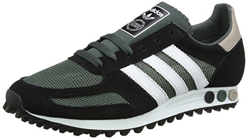 adidas Herren LA Trainer OG Low, Utility Ivy/Footwear White/Core Black, 44 2/3 EU (Adidas Trainer)