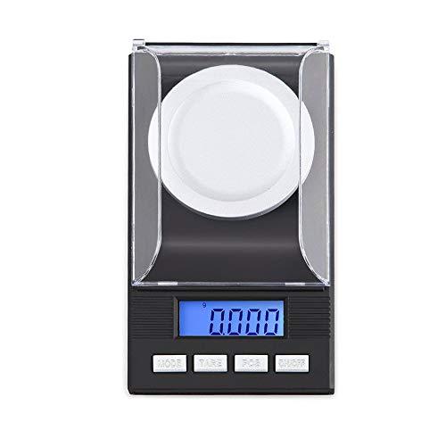 DuDuDu Poids élevé de Gram Balance de précision numérique Bijoux Balance électronique pesant échelle 10g / 20g / 50g / 100g 0,001 g