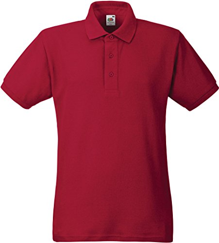 Heavy Poloshirt Brick Red