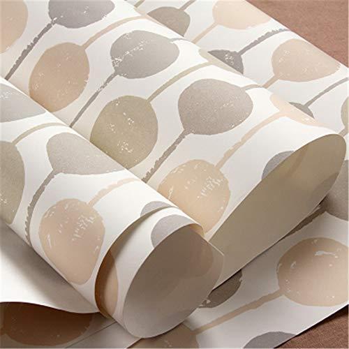 Pmrioe Moderne Farbpunkt-Streifen-Kunst-Tapeten-Wohnzimmer-Kinderschlafzimmer-Umweltfreundlicher Hintergrund-Wand-Ausgangsdekor-Tapeten-Rolle 3D, D