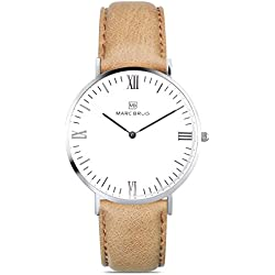 Marc Brüg Men's Minimalist Watch Chamonix 41 Hygge