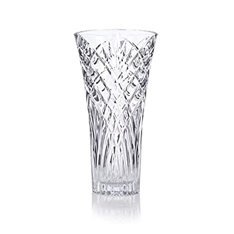 RCR Crystal Melodia Clear Glass Vase -