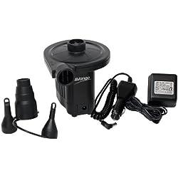 Vango Electric - Bomba de colchón de acampada, color negro