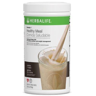 Herbalife Formula 1 comida saludable- Galletas y Crema - 550 g